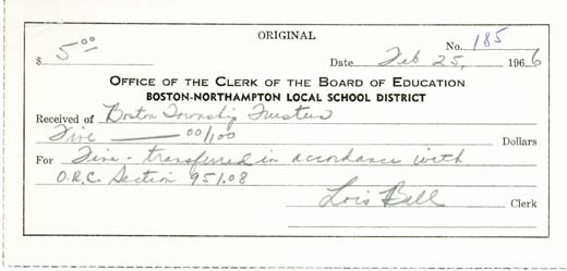 Boston-Northampton Local School District